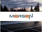 Colored background Mersen logo